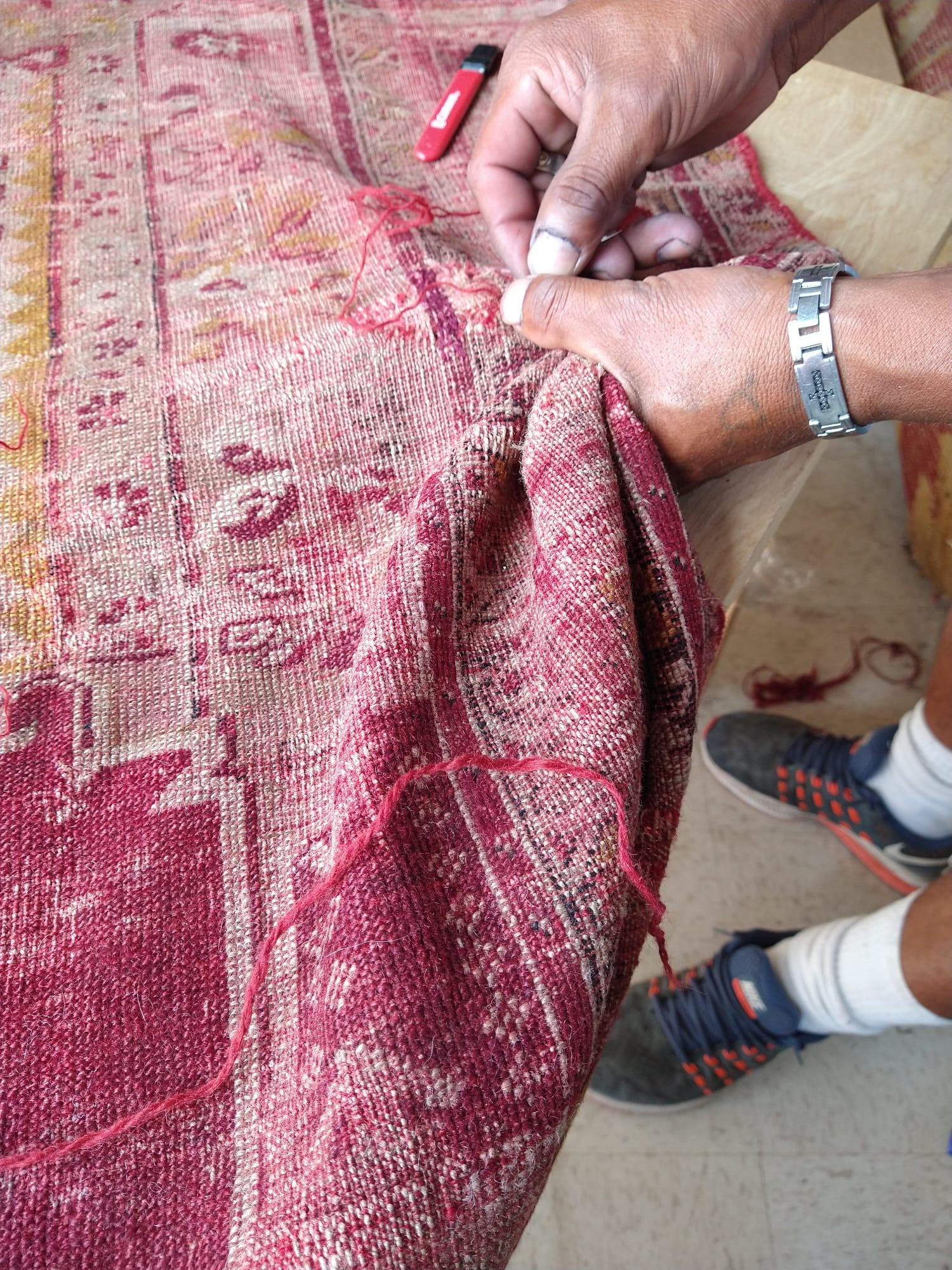 Los Angeles rug repair